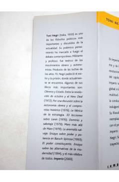 Muestra 3 de INTELECTUALES. TONI NEGRI Y LOS DESAFÍOS DE IMPERIO (Néstor Kohan) Campo de Ideas 2002