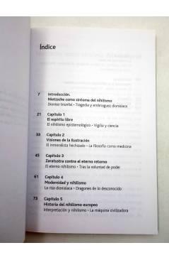 Muestra 2 de INTELECTUALES. FRIEDRICH NIETZSCHE Y LA VIGENCIA DEL NIHILISMO (Rubén H. Ríos) Campo de Ideas 2004