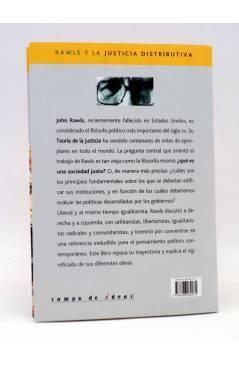 Contracubierta de INTELECTUALES. JOHN RAWLS Y LA JUSTICIA DISTRIBUTIVA (Pablo Da Silveira) Campo de Ideas 2003