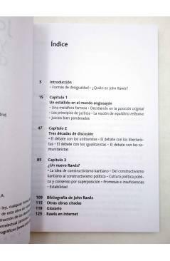Muestra 2 de INTELECTUALES. JOHN RAWLS Y LA JUSTICIA DISTRIBUTIVA (Pablo Da Silveira) Campo de Ideas 2003