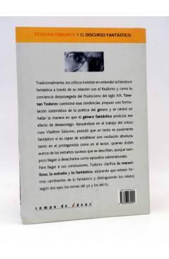 Contracubierta de INTELECTUALES. TZVETAN TODOROV (Silvina Múscolo) Campo de Ideas 2005