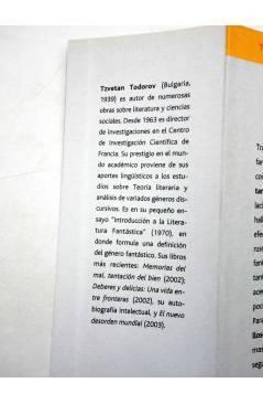 Muestra 4 de INTELECTUALES. TZVETAN TODOROV (Silvina Múscolo) Campo de Ideas 2005
