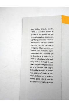 Muestra 4 de INTELECTUALES. KEN WILBER Y LA PSICOLOGÍA INTEGRAL (Miguel Grinberg) Campo de Ideas 2005