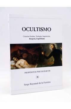 Cubierta de PROPÓSITOS PSICOLÓGICOS 20. OCULTISMO (Serge Raynaud De La Ferrière) El Aguador 2004