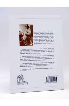 Contracubierta de PROPÓSITOS PSICOLÓGICOS 20. OCULTISMO (Serge Raynaud De La Ferrière) El Aguador 2004