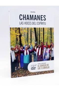 Cubierta de CHAMANES. LAS VOCES DEL ESPÍRITU + DVD EL COSEJO DE LAS 13 ABUELAS (Jaime Alba) Sabai 2010