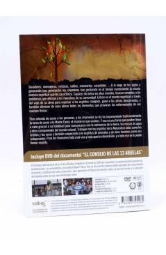 Contracubierta de CHAMANES. LAS VOCES DEL ESPÍRITU + DVD EL COSEJO DE LAS 13 ABUELAS (Jaime Alba) Sabai 2010