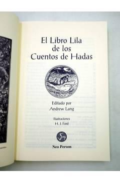 Muestra 1 de EL LIBRO LILA DE LOS CUENTOS DE HADAS (Andrew Lang / H.J. Ford) Neo Person 2001