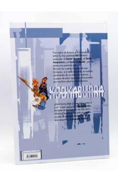 Contracubierta de BDDOLMEN 3. KOOKABURRA 1. PLANETA DAKOI (Crisse) Dolmen 2004