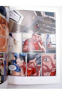 Muestra 5 de SALTANDO AL VACÍO 1 2 3 4 5. COMPLETA (Man / Migoya) Glenat 2007