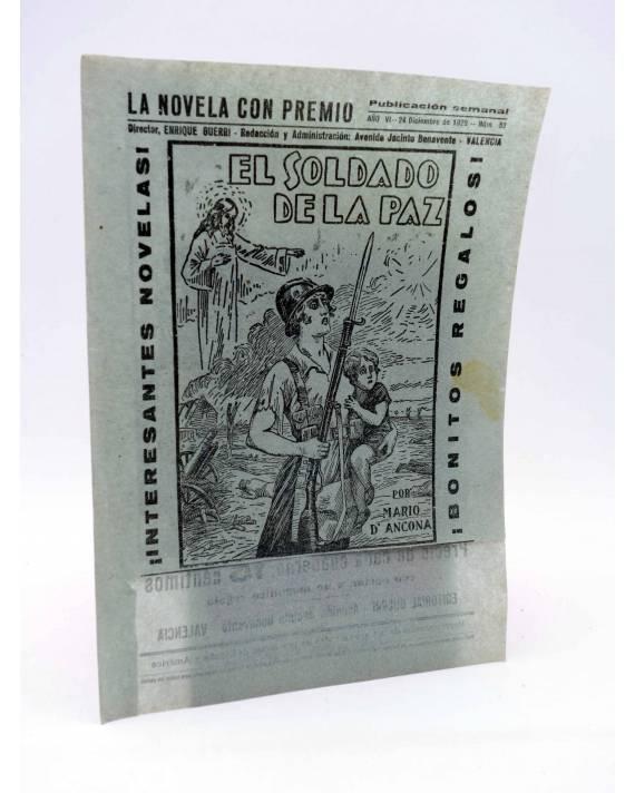 Cubierta de CUBIERTA FOLLETÍN EL SOLDADO DE LA PAZ. LA NOVELA CON PREMIO (Mario D'Ancona) Guerri 1929
