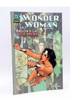 Cubierta de WONDER WOMAN. LA BRUJA Y LA GUERRERA (Phil Jiménez) Norma 2004