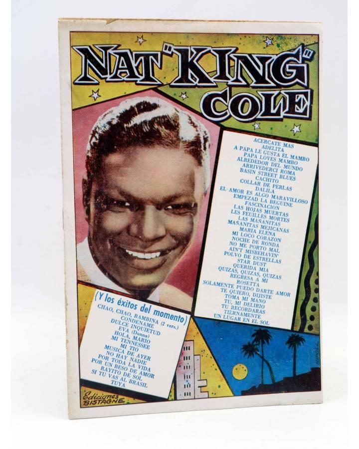 Cubierta de CANCIONERO. NAT KING COLE. CREACIONES EN DISCOS CAPITOL. Bistagne 1959
