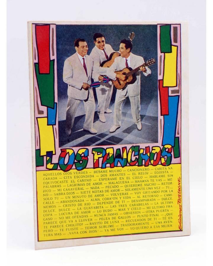 Cubierta de CANCIONERO 24. LOS PANCHOS CANTAN SUS ÉXITOS. Bistagne 1962