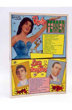 Cubierta de CANCIONERO 27. ROSITA FERRER / LOS CANASTEROS. Bistagne 1962