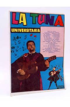 Cubierta de CANCIONERO 77. LA TUNA UNIVERSITARIA. Bistagne 1963