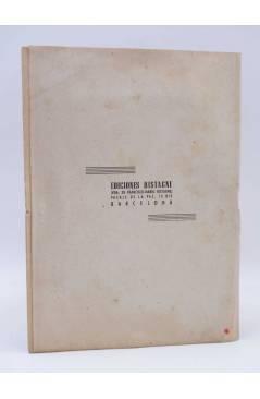 Contracubierta de CANCIONERO. ÚLTIMOS ÉXITOS: EDUARDO GADEA LAUREN VERA 4 ASES. Bistagne Circa 1950