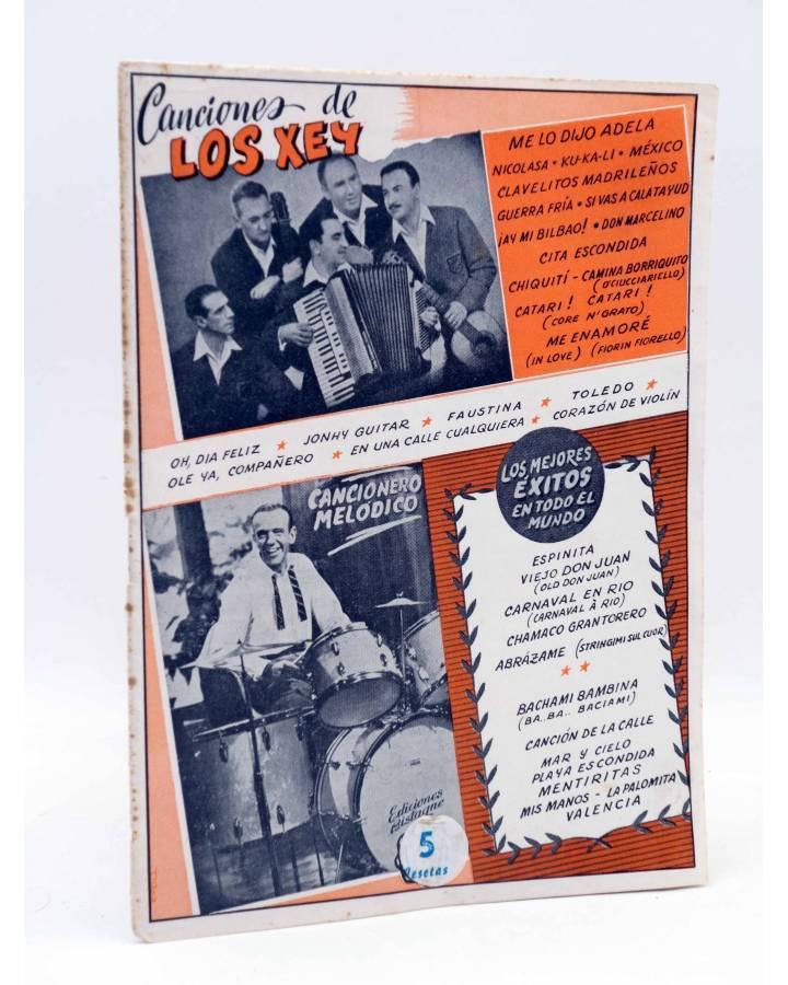 Cubierta de CANCIONERO. LOS XEY SELECCIÓN DE SUS ÉXITOS EN DISCOS COLUMBIA. Bistagne Circa 1950