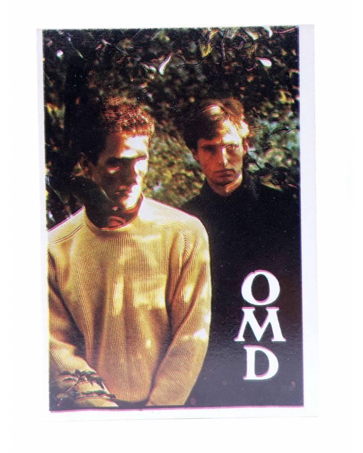 Cubierta de CROMO SUPER MUSICAL 104. OMD ORCHESTRAL MANEOUVRES IN THE DARK (Omd Orchestral Maneouvres In The Dark) Eyder