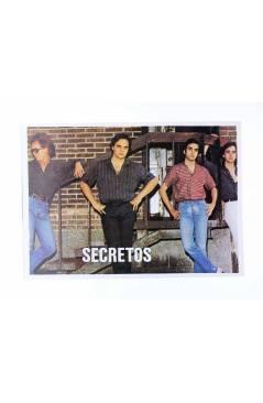 Cubierta de CROMO SUPER MUSICAL 115. LOS SECRETOS (Los Secretos) Eyder Circa 1980