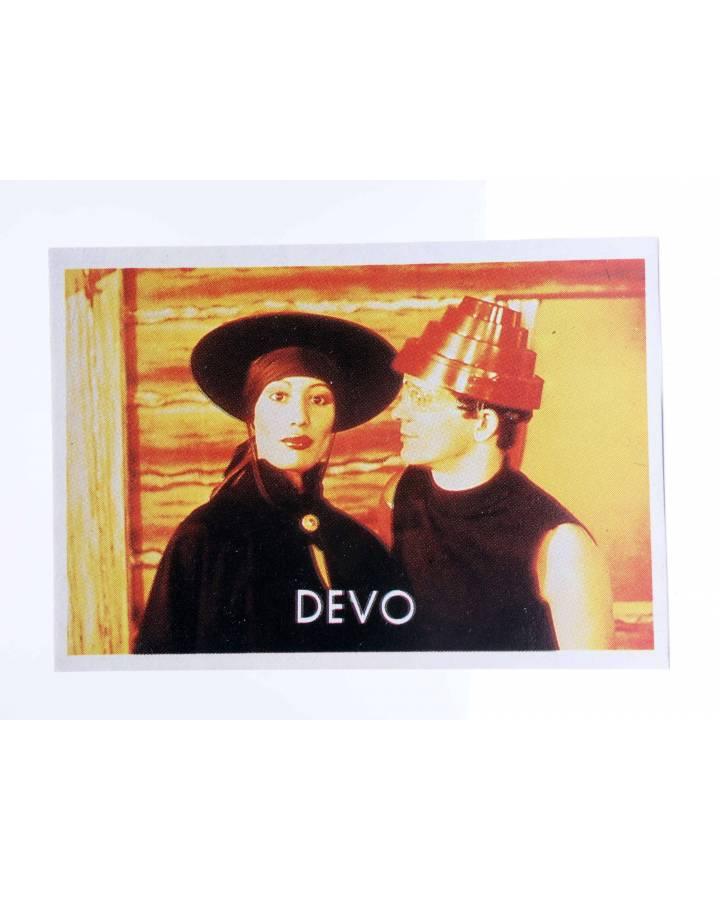 Cubierta de CROMO SUPER MUSICAL 116. DEVO (Devo) Eyder Circa 1980