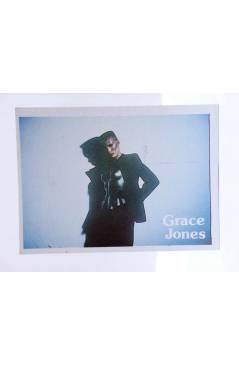 Cubierta de CROMO SUPER MUSICAL 117. GRACE JONES (Grace Jones) Eyder Circa 1980