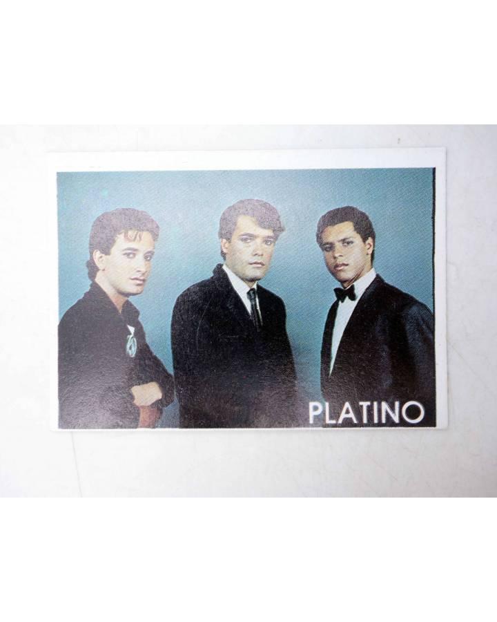 Cubierta de CROMO SUPER MUSICAL 122. PLATINO (Platino) Eyder Circa 1980