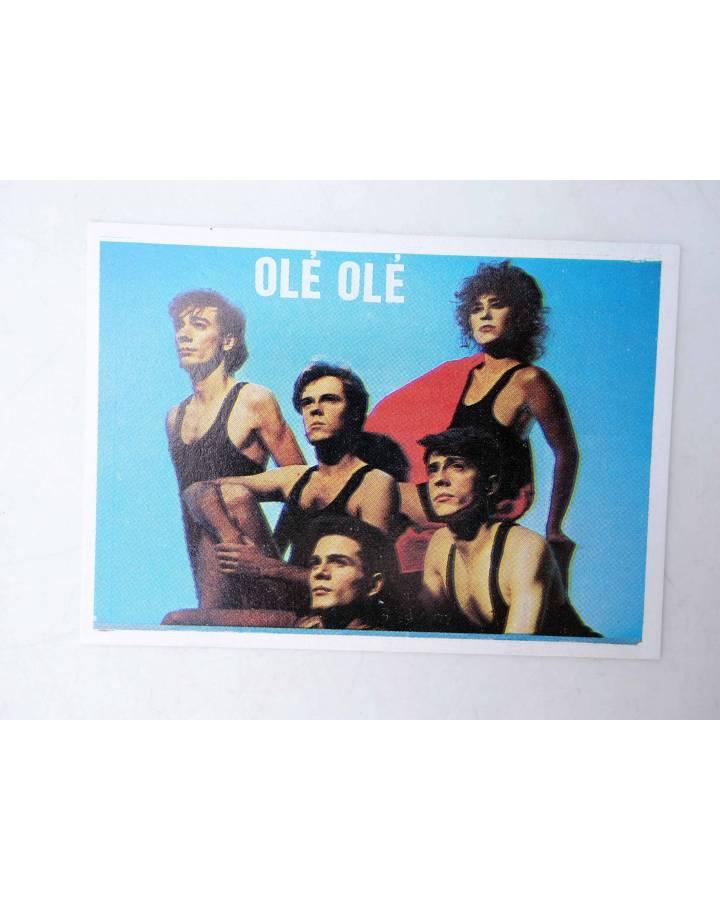 Cubierta de CROMO SUPER MUSICAL 124. OLÉ OLÉ (Olé Olé) Eyder Circa 1980