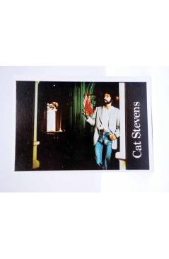 Cubierta de CROMO SUPER MUSICAL 140. CAT STEVENS (Cat Stevens) Eyder Circa 1980