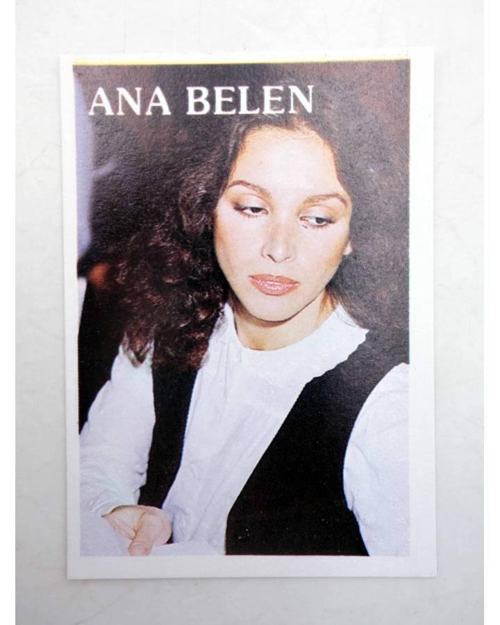 Cubierta de CROMO SUPER MUSICAL 142. ANA BELÉN (Ana Belén) Eyder Circa 1980