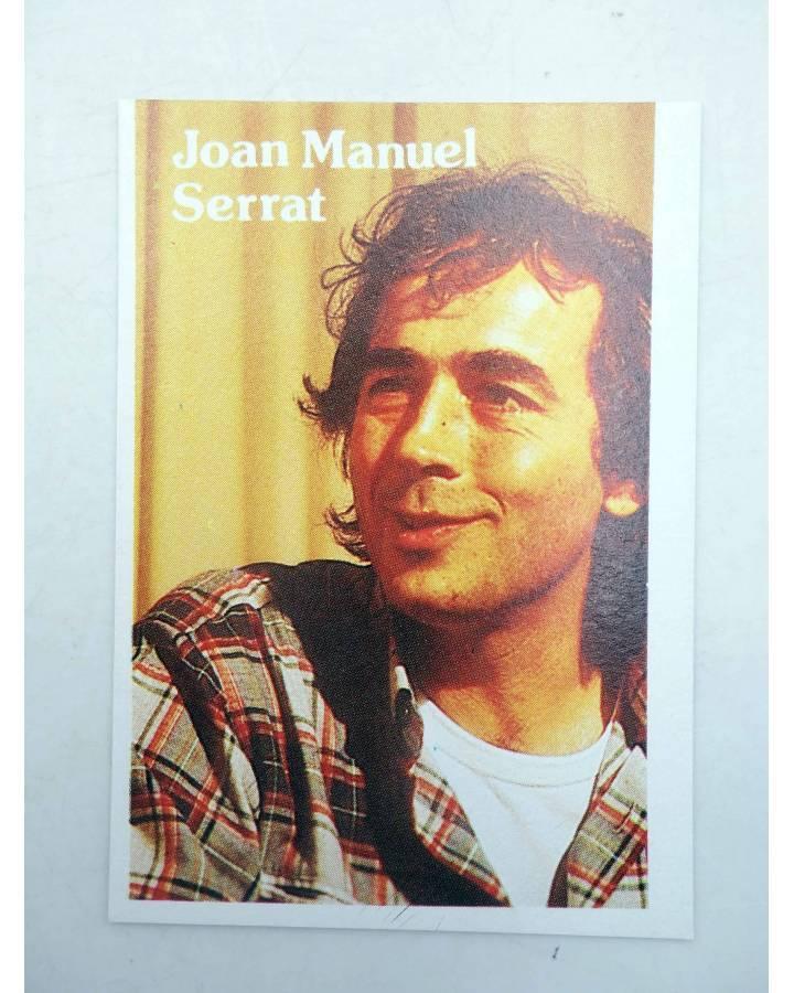 Cubierta de CROMO SUPER MUSICAL 144. JOAN MANUEL SERRAT (Joan Manuel Serrat) Eyder Circa 1980