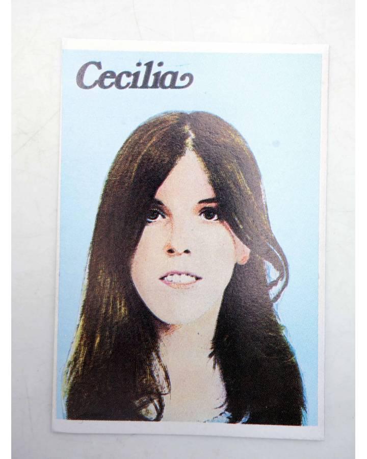 Cubierta de CROMO SUPER MUSICAL 145. CECILIA (Cecilia) Eyder Circa 1980