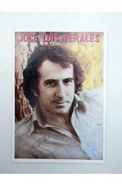 Cubierta de CROMO SUPER MUSICAL 147. JOSÉ LUÍS PERALES (José Luís Perales) Eyder Circa 1980