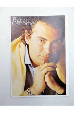 Cubierta de CROMO SUPER MUSICAL 150. BERTÍN OSBORNE (Bertín Osborne) Eyder Circa 1980
