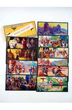 Cubierta de CROMOS CULTURALES Nº 8. EL GRAN CAPITÁN. COMPLETA 10 CROMOS. Barsal Circa 1930
