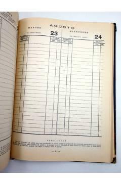 Muestra 3 de ALMANAQUE AGENDA AÑO 1960. Sección Femenina de FET y de las JONS 1958
