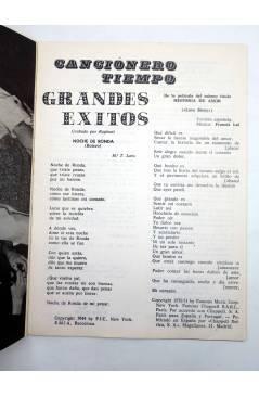 Muestra 2 de CANCIONERO TIEMPO. ANDRES DO BARRO (Andres Do Barro) Vilmar 1971