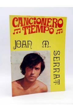 Cubierta de CANCIONERO TIEMPO. JOAN MANUEL SERRAT (Joan Manuel Serrat) Vilmar 1972