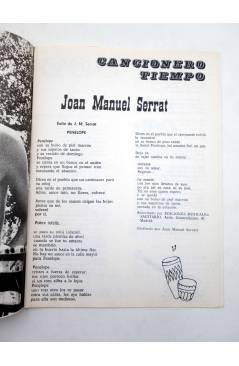 Muestra 1 de CANCIONERO TIEMPO. JOAN MANUEL SERRAT (Joan Manuel Serrat) Vilmar 1972