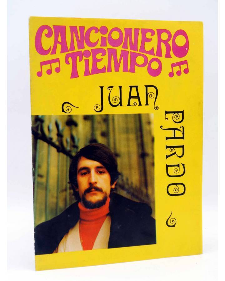 Cubierta de CANCIONERO TIEMPO. JUAN PARDO (Juan Pardo) Vilmar 1972