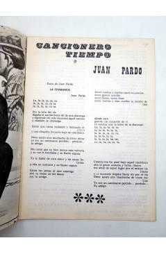 Muestra 2 de CANCIONERO TIEMPO. JUAN PARDO (Juan Pardo) Vilmar 1972