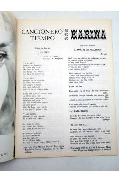Muestra 1 de CANCIONERO TIEMPO. KARINA (Karina) Vilmar 1971