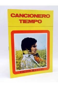 Cubierta de CANCIONERO TIEMPO. VÍCTOR MANUEL (Victor Manuel) Vilmar 1971