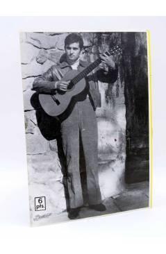 Contracubierta de CANCIONERO TIEMPO. VÍCTOR MANUEL (Victor Manuel) Vilmar 1971
