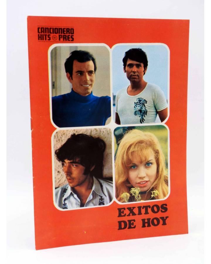 Cubierta de CANCIONERO HITS PRES. ÉXITOS DE HOY (Julio Iglesias / Raphael / Víctor Manuel) Presidente 1970
