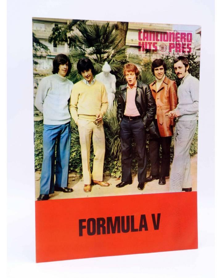 Cubierta de CANCIONERO HITS PRES. FÓRMULA V (Fórmula V) Presidente 1970