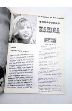 Muestra 2 de CANCIONERO HITS PRES. KARINA (Karina) Presidente 1969