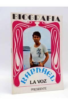 Cubierta de BIOGRAFÍA. RAPHAEL. LA VOZ (Raphael) Presidente 1970