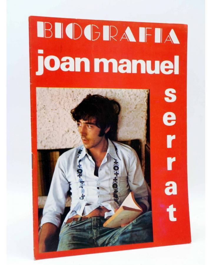 Cubierta de BIOGRAFÍA. JOAN MANUEL SERRAT (Joan Manuel Serrat) Presidente 1970
