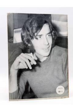 Contracubierta de BIOGRAFÍA. JOAN MANUEL SERRAT (Joan Manuel Serrat) Presidente 1970